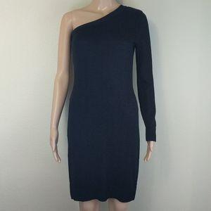 [Michael Michael Kors] One Shoulder Knit Midi